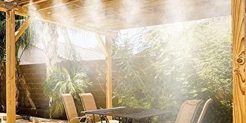El Mejor Nebulizador De Agua Para Terrazas Y Balcones